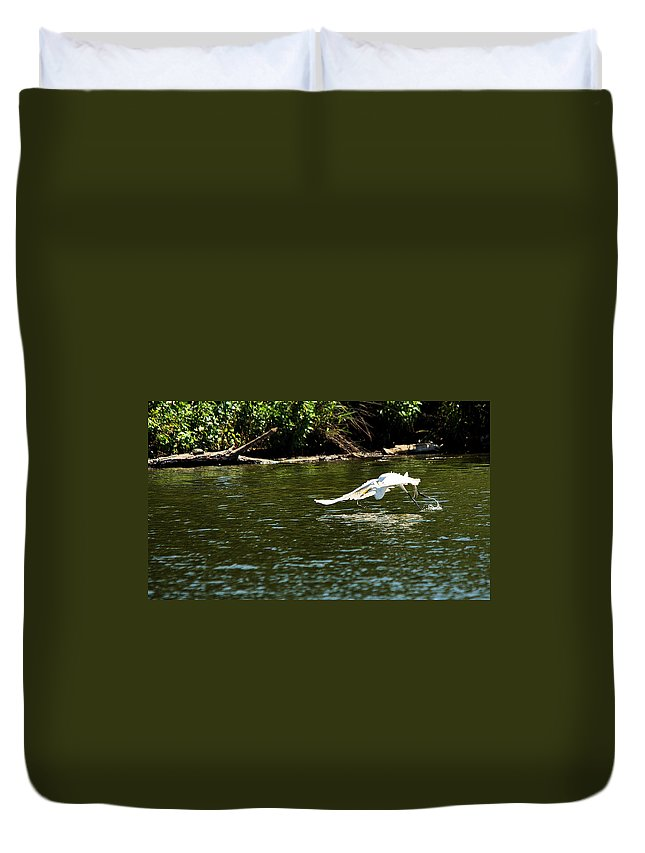 Roy Williams Duvet Cover featuring the photograph Catch Of The Day Series - 2 by Roy Williams
