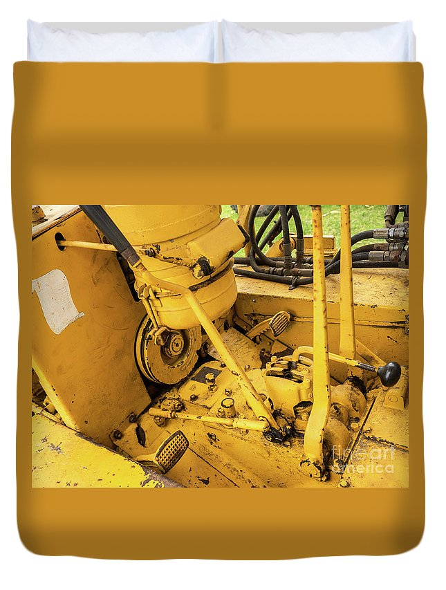 Caterpillar D2 Bulldozer 07 Duvet Cover