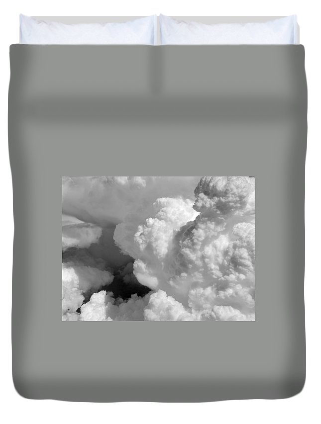 Cloud Art Duvet Cover featuring the photograph Cb1.38 by Strato ThreeSIXTYFive