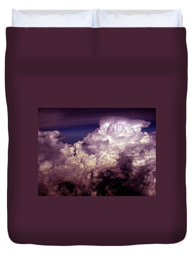 Aviation Art Duvet Cover featuring the photograph Cb1.45 by Strato ThreeSIXTYFive