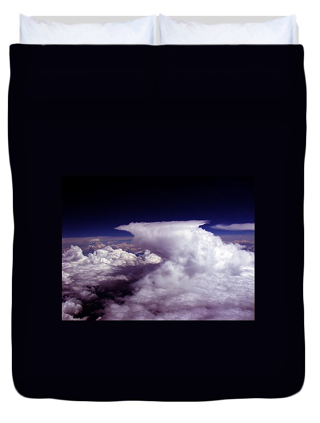 Aviation Art Duvet Cover featuring the photograph Cb2.16 by Strato ThreeSIXTYFive