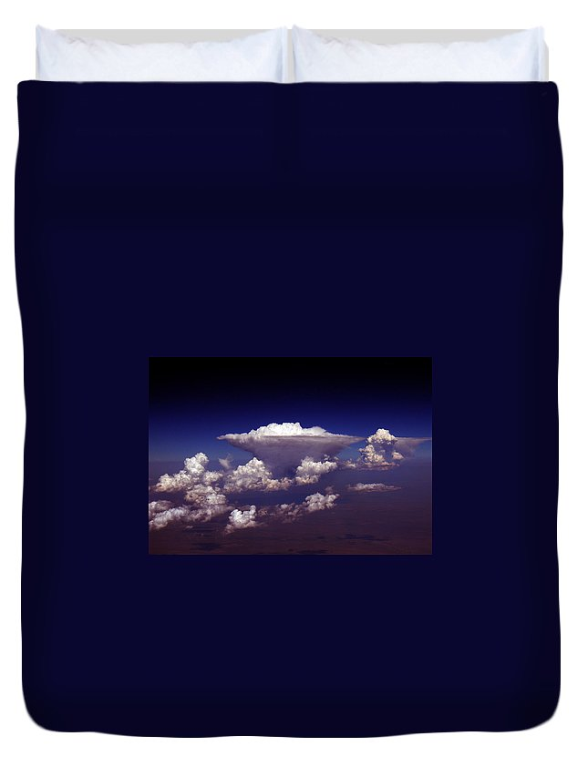 Aviation Art Duvet Cover featuring the photograph Cb2.98 by Strato ThreeSIXTYFive