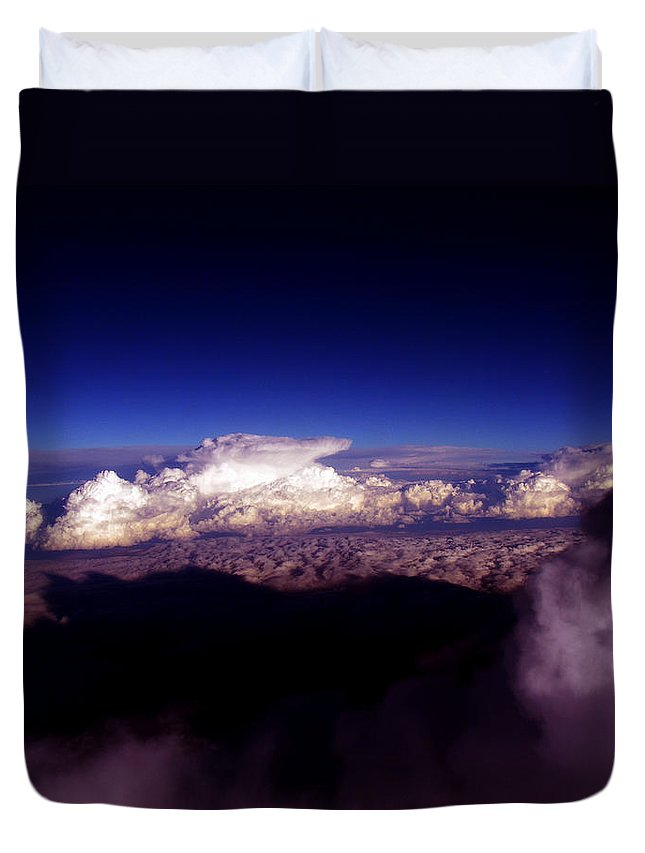 Cloud Photos Duvet Cover featuring the photograph Cb3.46 by Strato ThreeSIXTYFive