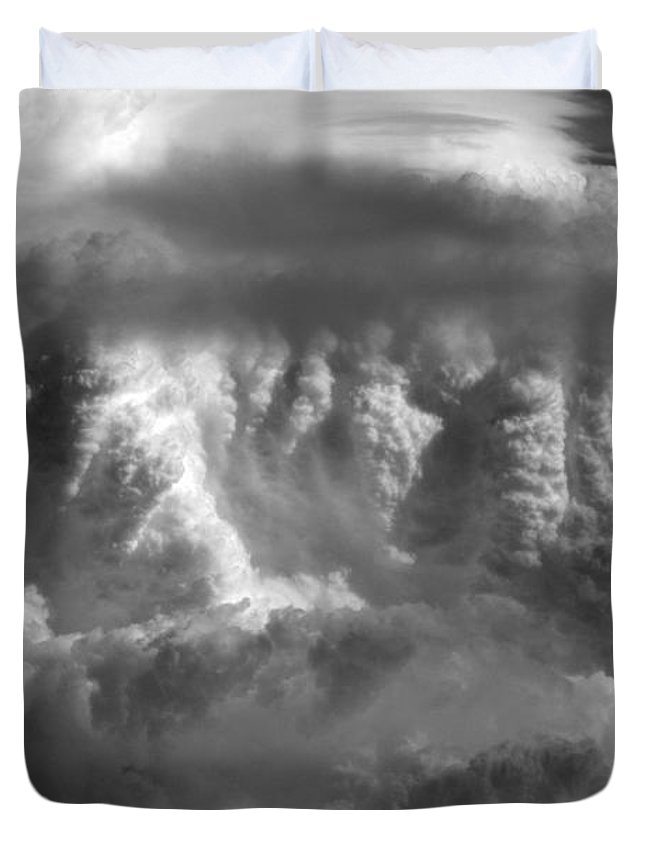 Cloud Photos Duvet Cover featuring the photograph Cb5.878 by Strato ThreeSIXTYFive