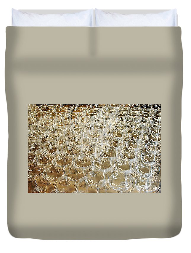 Clay Duvet Cover featuring the photograph Celebration by Clayton Bruster