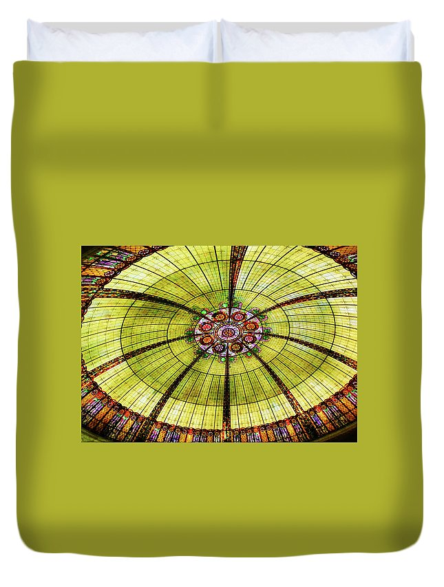 Vegas Duvet Cover featuring the photograph Celebration Of Glass by JAMART Photography