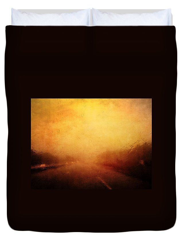 Vintage Duvet Cover featuring the photograph Cell Pic II by Tina Baxter