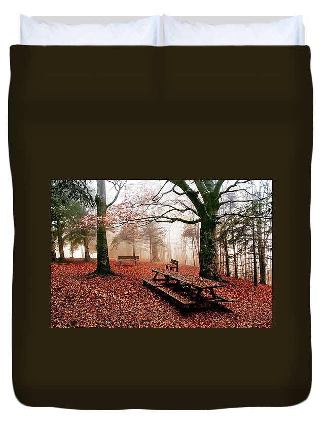 Landscape Duvet Cover featuring the photograph Ceppo Italy by Marco Torrieri
