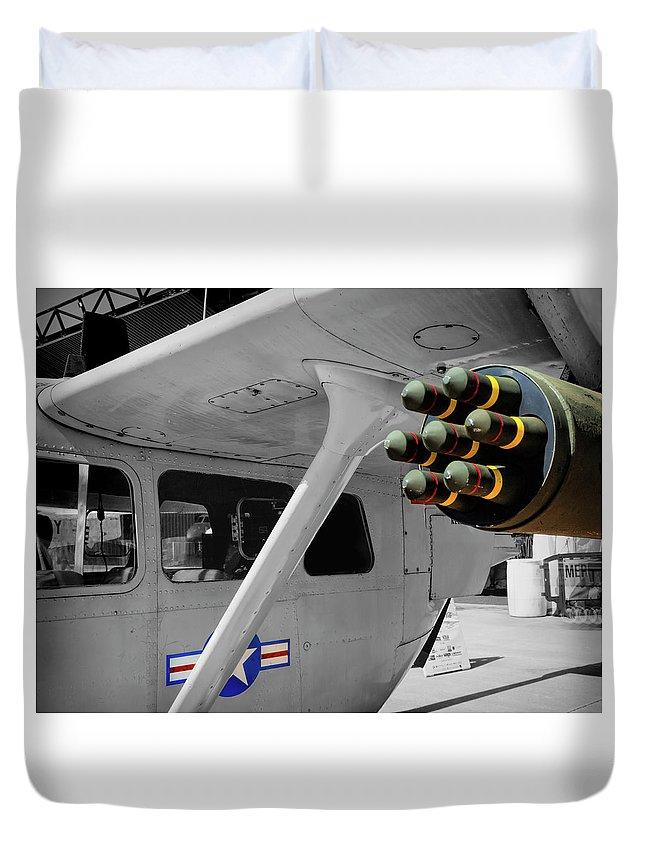 Cessna O-2 Skymaster Duvet Cover
