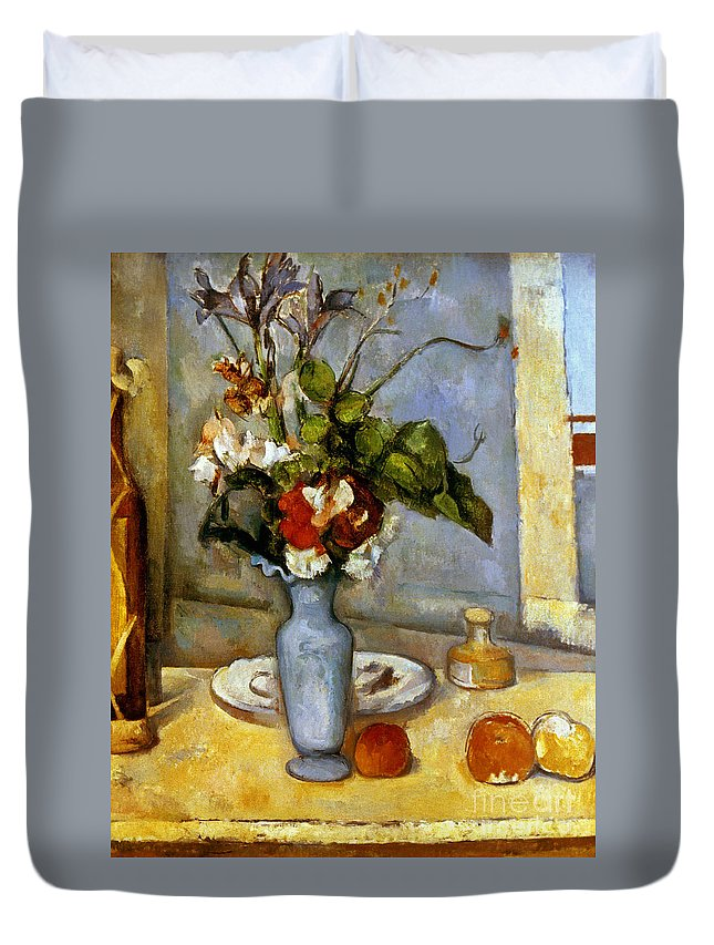Cezanne Blue Vase 1885 87 Duvet Cover For Sale By Granger