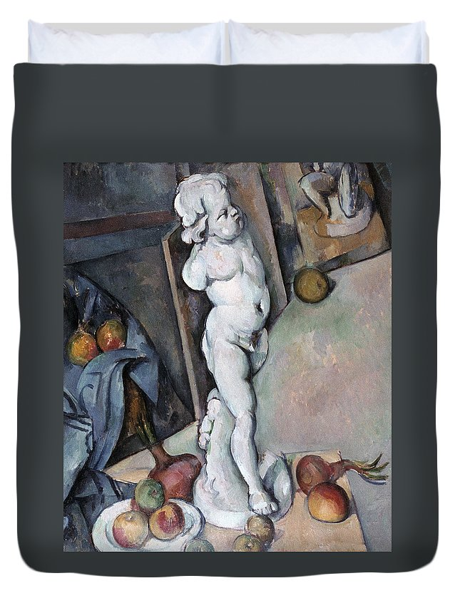1895 Duvet Cover featuring the photograph Cezanne: Sill Life, C1895 by Granger