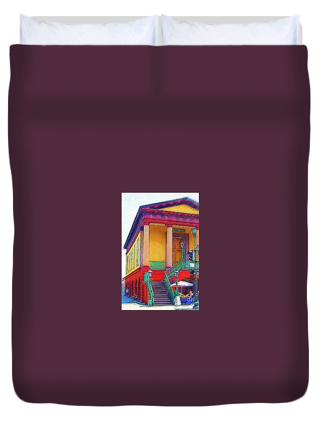 Building Duvet Cover featuring the photograph Charleston Market by Donna Bentley