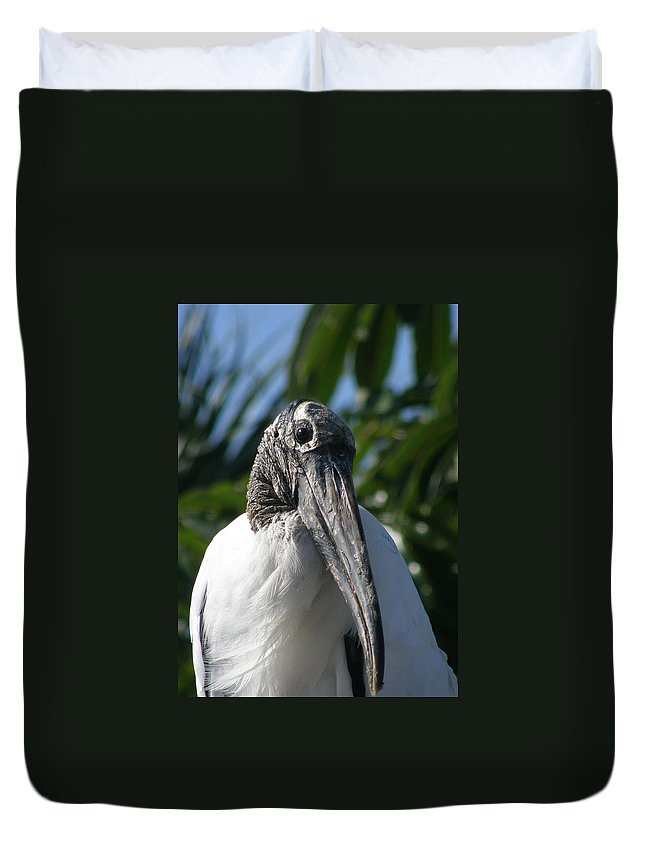 Bird Duvet Cover featuring the photograph Cheese by Kimberly Mohlenhoff