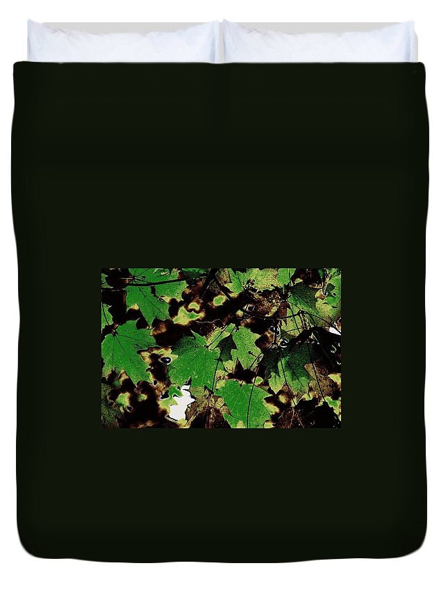 Landscape Duvet Cover featuring the photograph Chocolate Pudding by Ed Smith