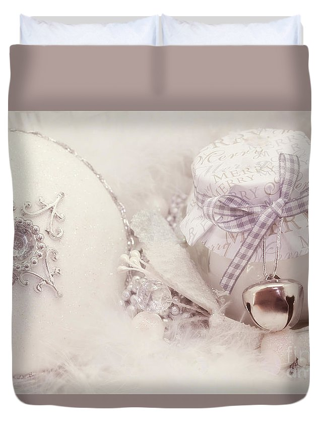 Christmas Duvet Cover featuring the photograph Christmas Decorations by LHJB Photography