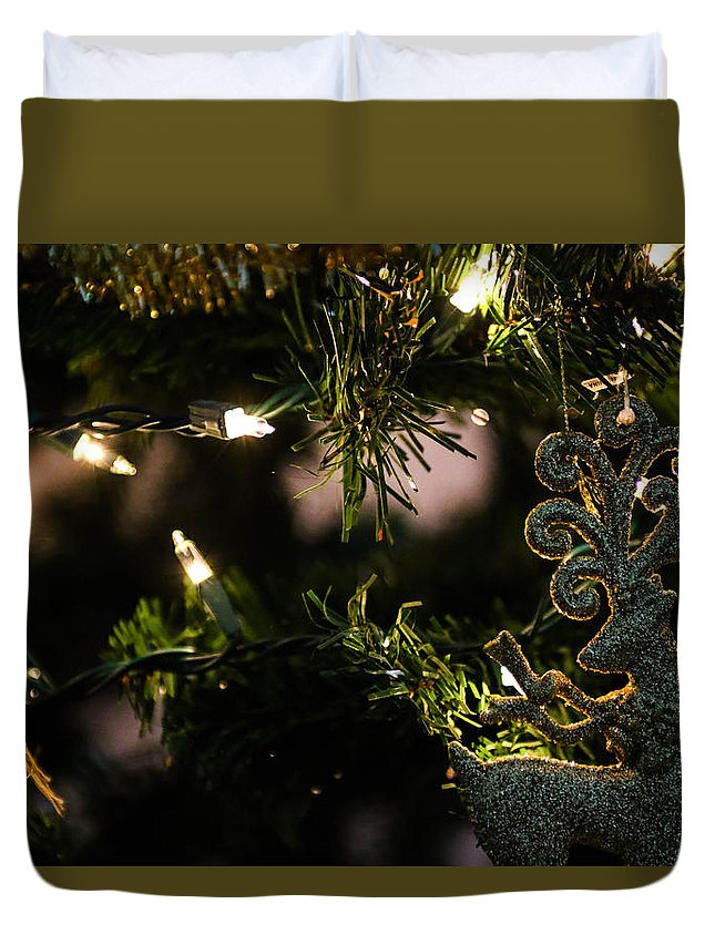 Christmas Duvet Cover featuring the photograph Christmas by Erick Kim
