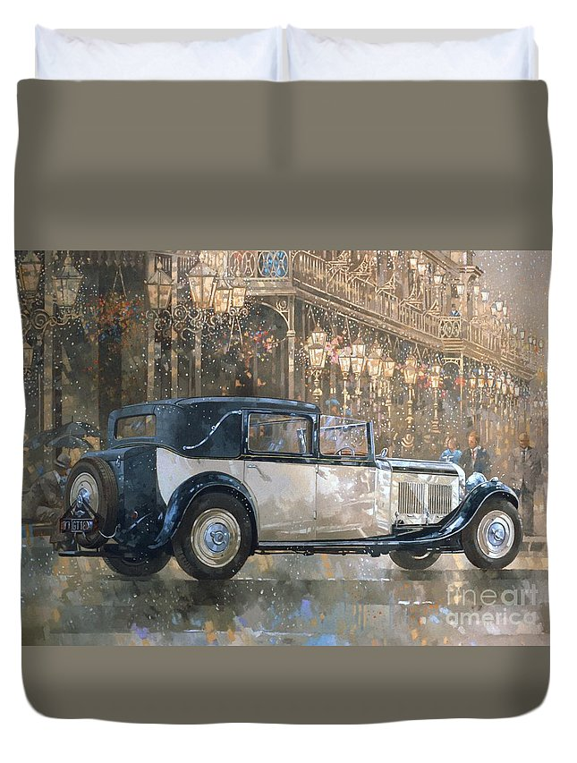 Old Building Duvet Covers
