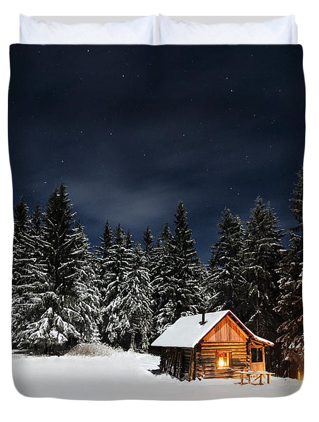 Christmas Duvet Cover featuring the photograph Christmas by Paul Itkin