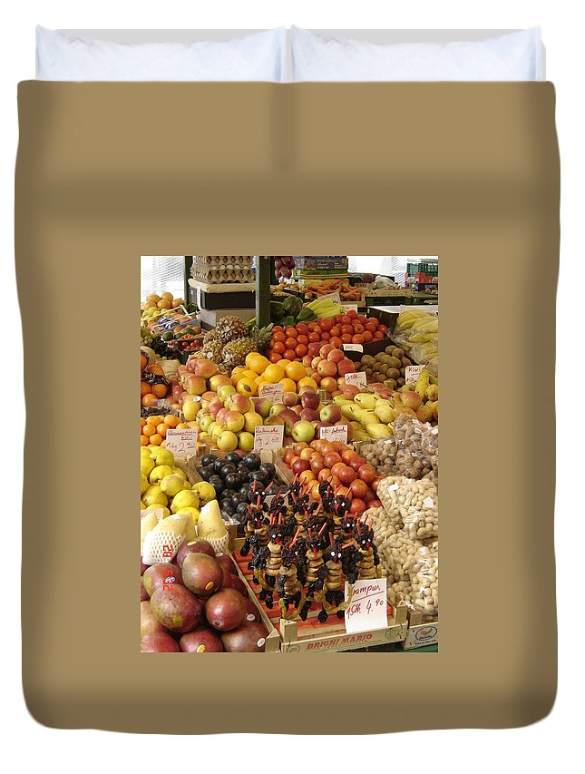 Food Duvet Cover featuring the photograph Christmas Treasures by Mary Rogers