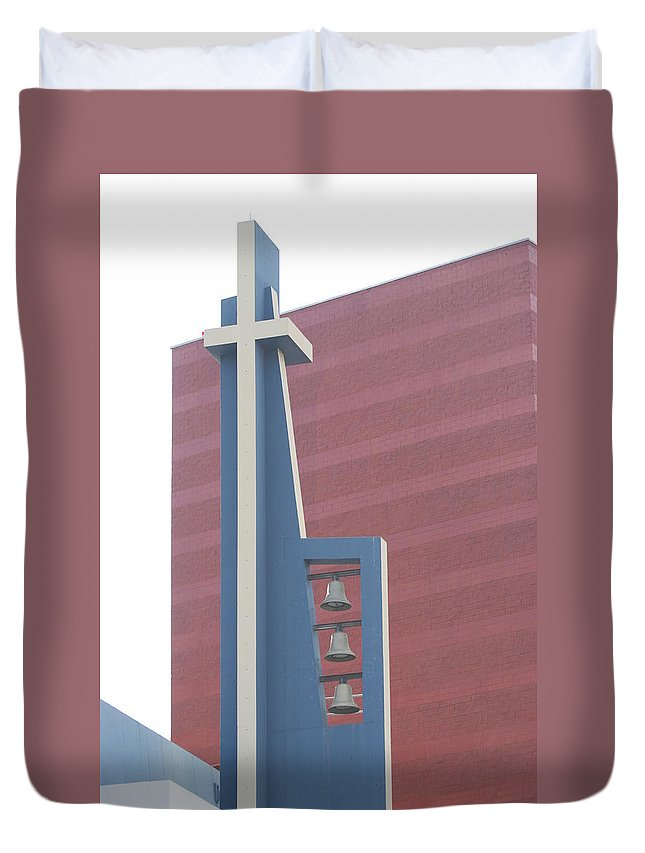 Bells Duvet Cover featuring the photograph Church Bells by Rob Hans
