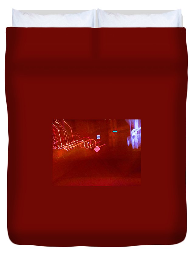 Photograph Duvet Cover featuring the photograph City Hall by Thomas Valentine
