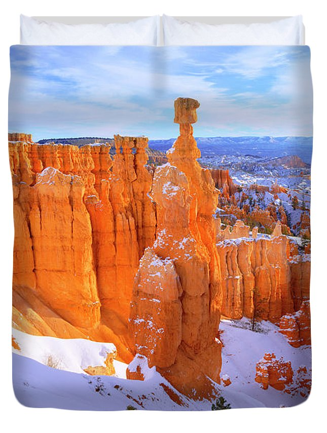 Classic Bryce Duvet Cover featuring the photograph Classic Bryce by Chad Dutson