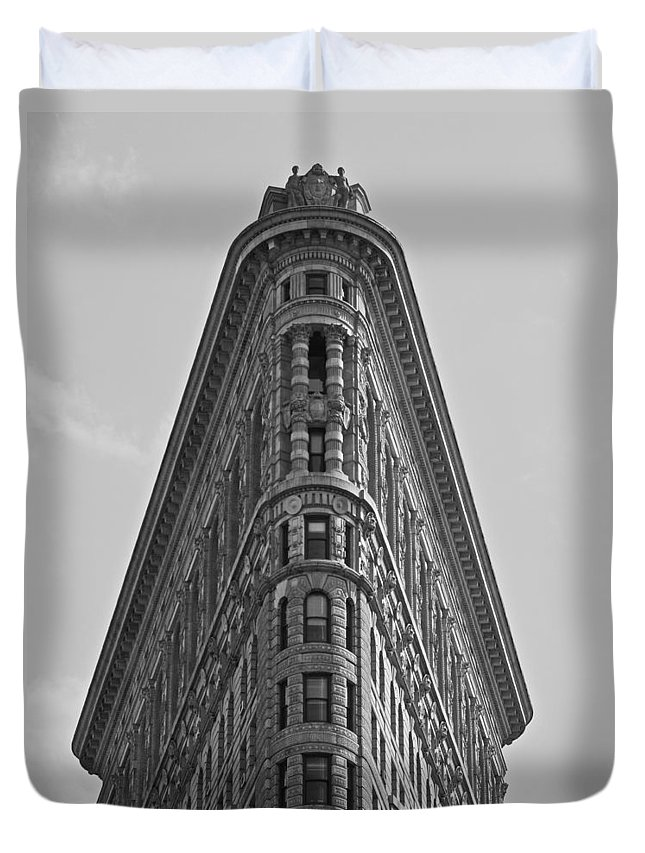 Architecture Duvet Cover featuring the photograph classic New York architecture by Dale Chapel
