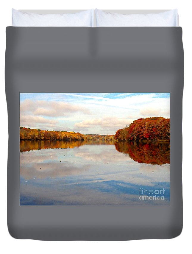Water Duvet Cover featuring the photograph Clear Willingness by Sybil Staples