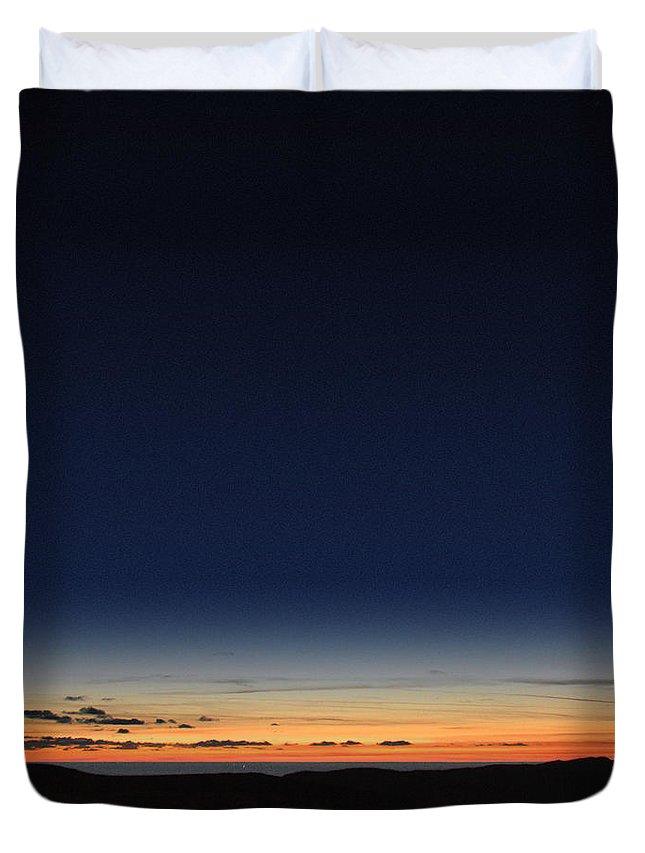Photography By Paul Davenport Duvet Cover featuring the photograph Clearing Skies I by Paul Davenport