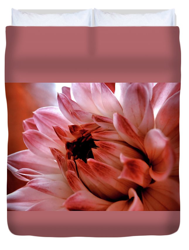 Flower Duvet Cover featuring the photograph Closeup by JAMART Photography
