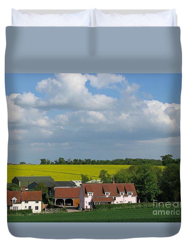 Cloud Duvet Cover featuring the photograph Cloud Cover by Ann Horn