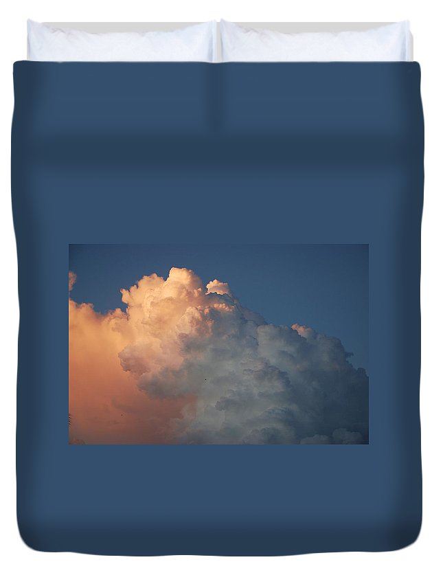 Clouds Duvet Cover featuring the photograph Clouds Are Always Greener by Rob Hans