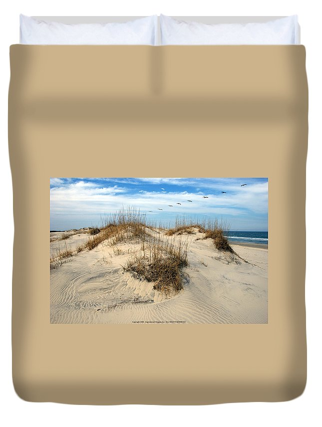 Beach Duvet Cover featuring the photograph Coastal Formation by Kelvin Booker