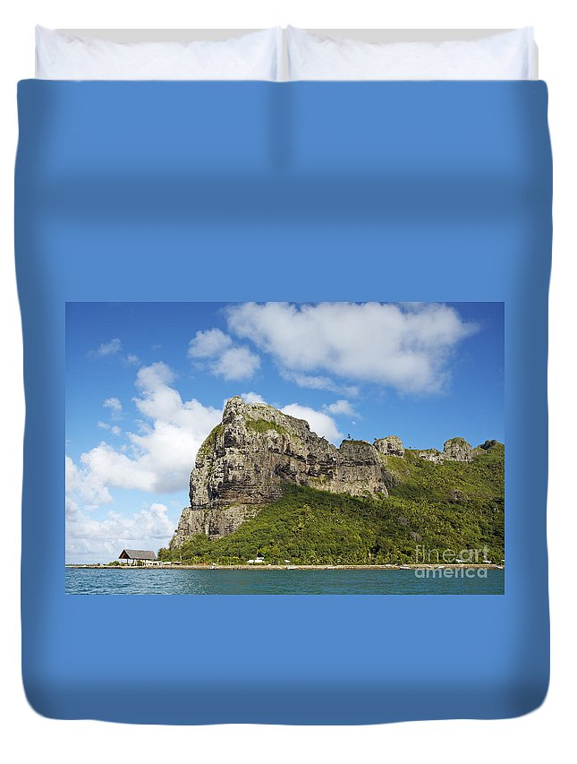 Beautiful Duvet Cover featuring the photograph Coastal Peak by Kyle Rothenborg - Printscapes