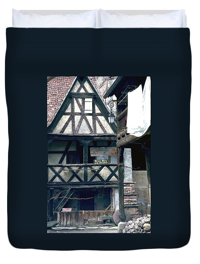 Colmar Duvet Cover featuring the photograph Colmar by Flavia Westerwelle
