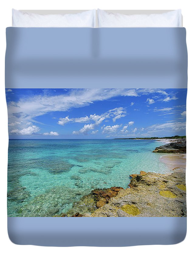 Chad Dutson Duvet Cover featuring the photograph Color and Texture by Chad Dutson
