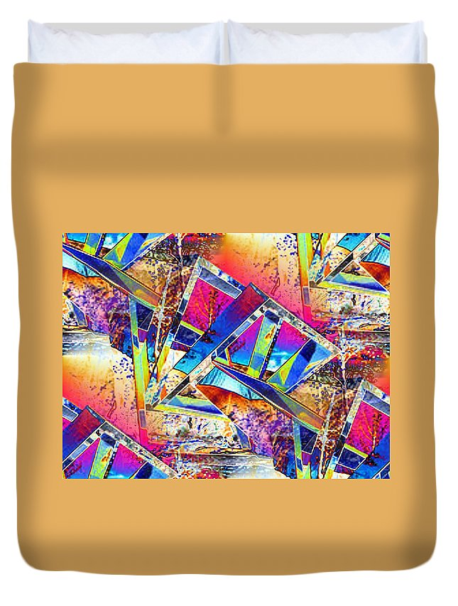 Seattle Duvet Cover featuring the photograph Color Me Abstract by Tim Allen
