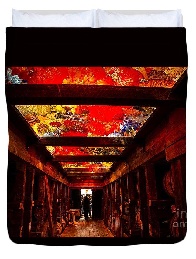 Bourbon Duvet Cover featuring the photograph Color My Bourbon by Nikki Vig
