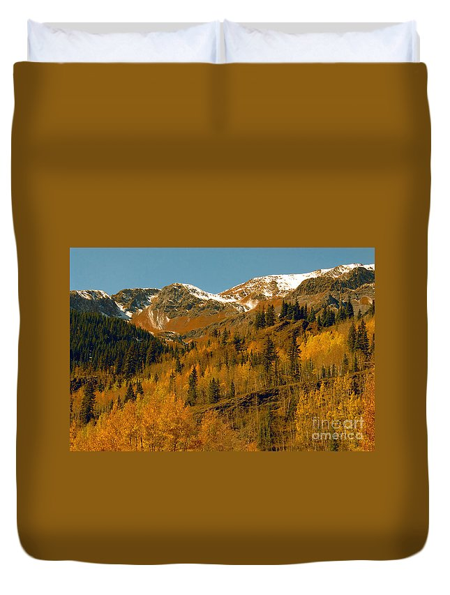 Colorado Duvet Cover featuring the photograph Colorado by David Lee Thompson