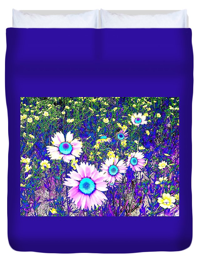 Photo Design Duvet Cover featuring the digital art Colormax 2 by Will Borden