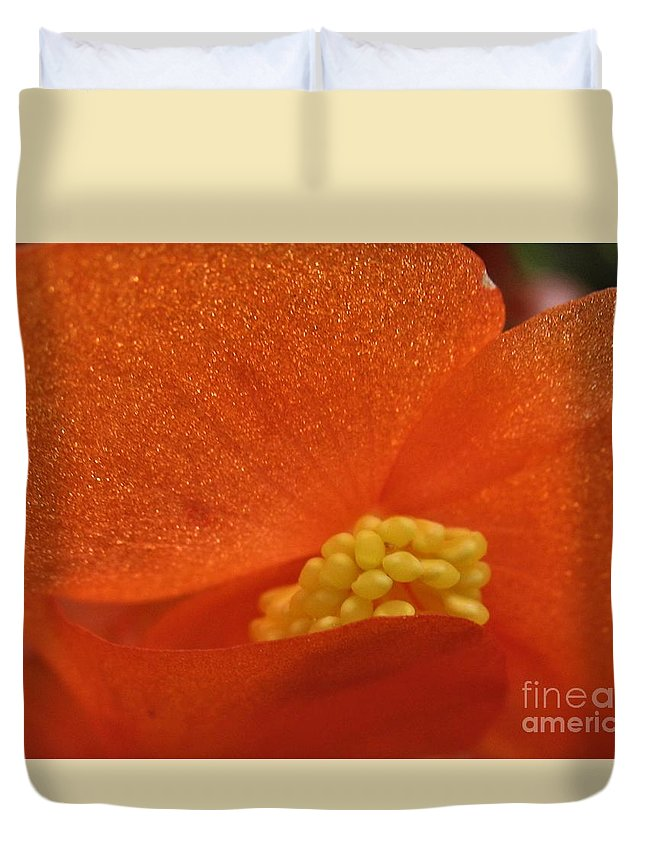 Colors Of The Sun Duvet Cover featuring the photograph Colors Of The Sun by Patti Whitten