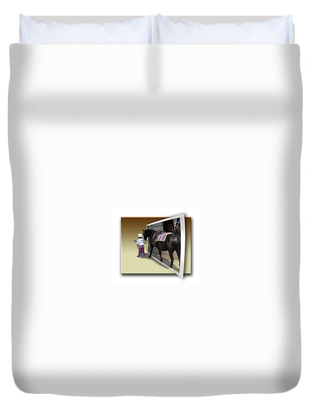 2d Duvet Cover featuring the photograph Come With Me by Brian Wallace