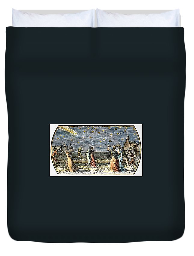 1812 Duvet Cover featuring the photograph Comet Of 1812 by Granger