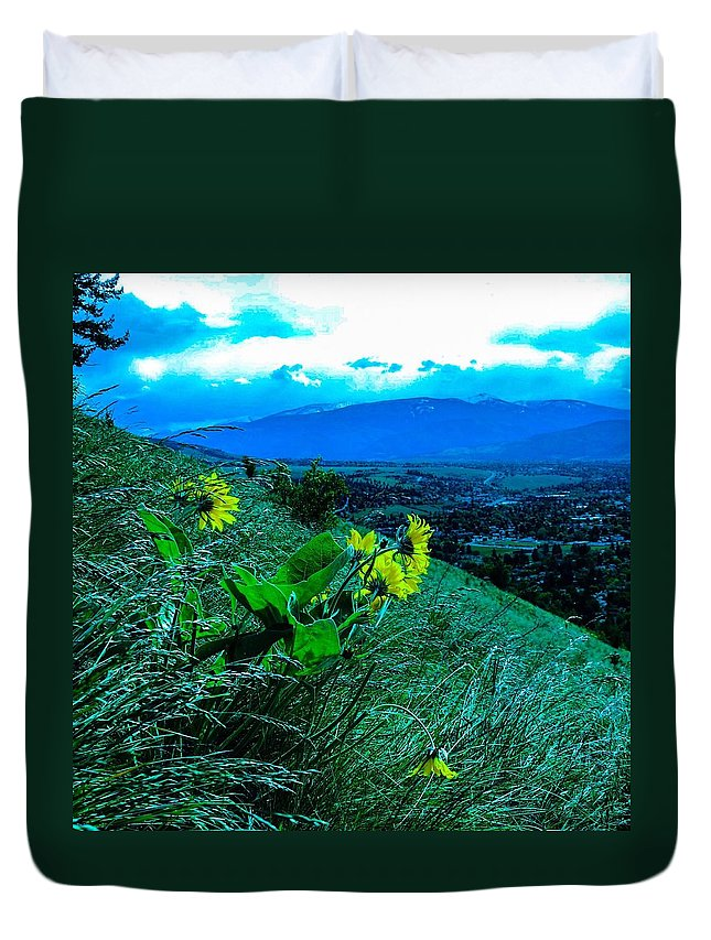 Duvet Cover featuring the photograph Compassion by Dan Hassett