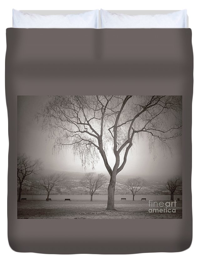 Summerland Duvet Cover featuring the photograph Composure by Tara Turner