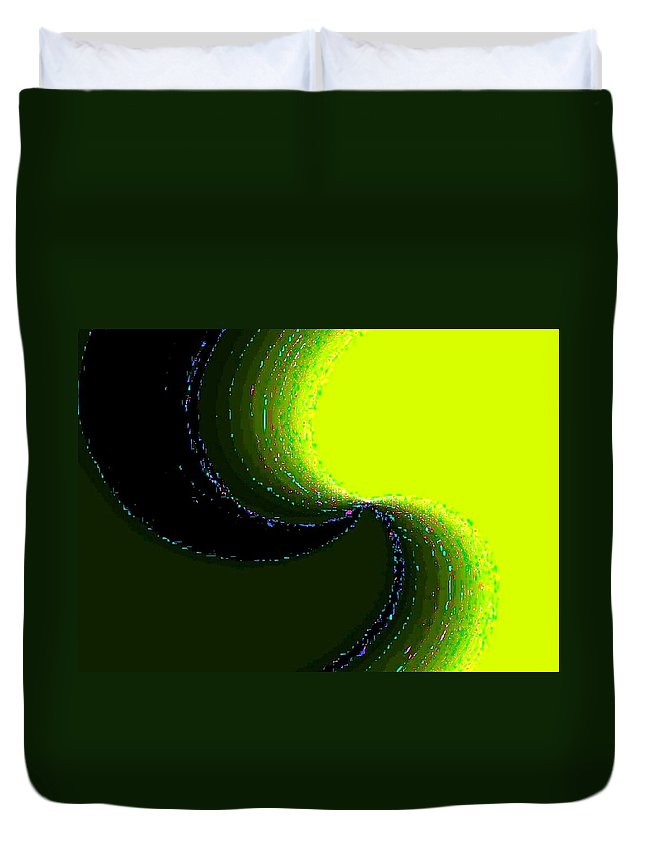 Organic Duvet Cover featuring the digital art Conceptual 5 by Will Borden