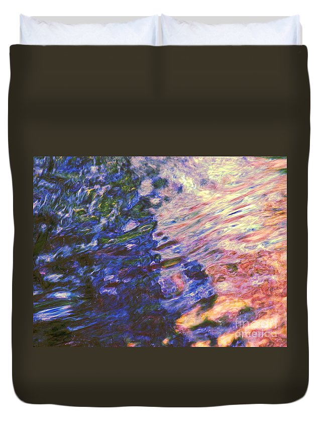 Abstract Duvet Cover featuring the photograph Congruent Forces by Sybil Staples