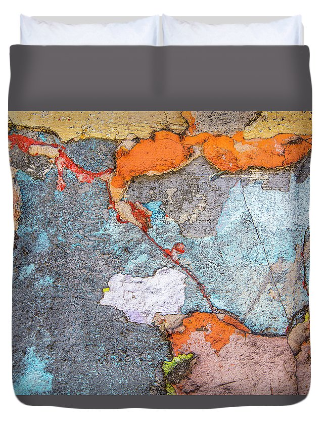 Colours Duvet Cover featuring the photograph Connection by Isabella Biava