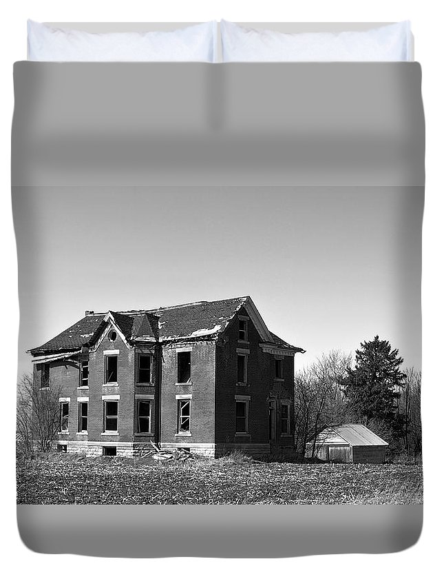Window Duvet Cover featuring the photograph Consummation by Bonfire Photography