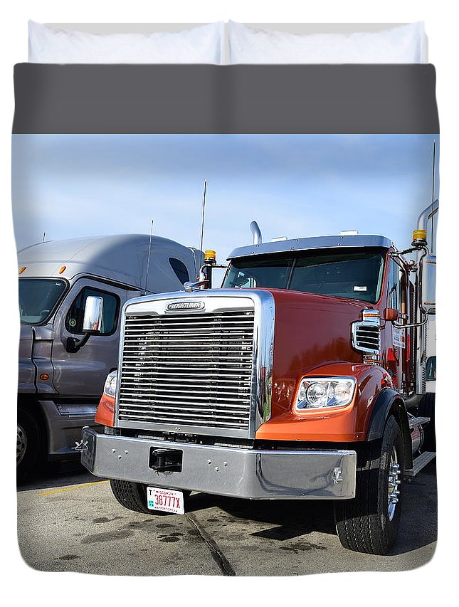 Trucks Duvet Cover featuring the photograph Coronado by Sergei Dratchev